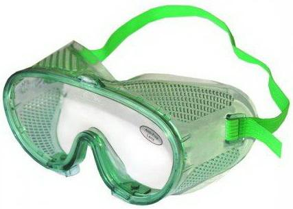 Очки ЭНКОР 56602  Классик с прямой вентиляцией