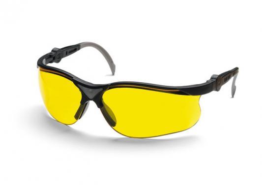 Очки защитные HUSQVARNA Yellow X 5449637-02 жёлтые линзы стойкие к царапинам 55w 3000k 1000 lumen 1 x h3 halogen bulb yellow light car fog lamps yellow lens dc 9 16v pair