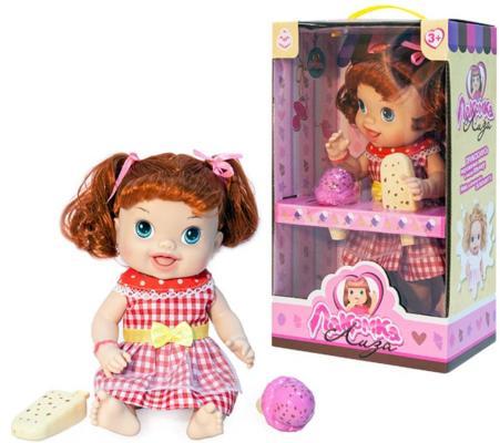 1toy кукла с мороженым (2шт.)Лакомка Лиза 36см,рыжая с хвостиками,кор. 1toy 1toy кукла лакомка лиза с мороженым красноволосая с хвостиками 36 см