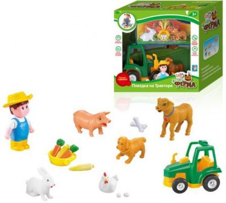 Купить Игровой набор 1toy Наша ферма. Поездка на тракторе , унисекс, Игровые наборы для мальчиков