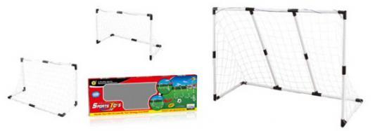 Игровой набор 1toy Футбольные ворота ворота футбольные atlet 7 32х2 44 м стационарные пара imp a163