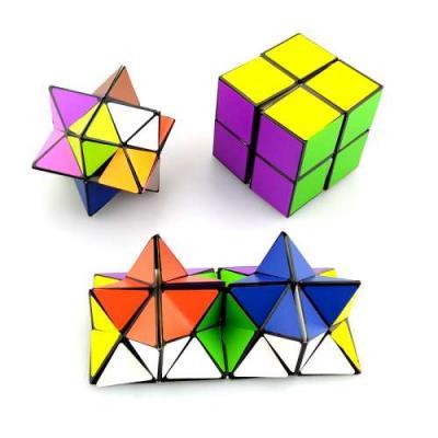 Антистрессовая игрушка 1toy Инфинити куб пластик Т11990 цена