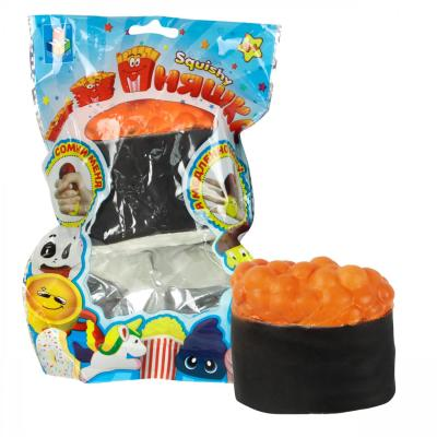 Антистрессовая игрушка суши 1toy игрушка-антистресс мммняшка, суши полимер цена