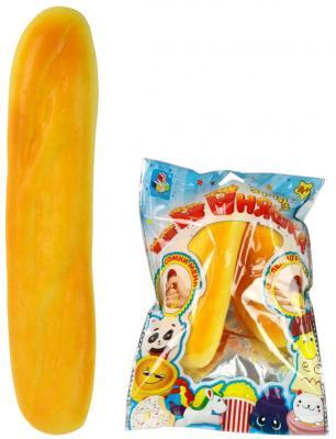 Антистрессовая игрушка багет 1toy мммняшка полимер желтый sima land антистрессовая игрушка заяц хрустик 04 цвет желтый