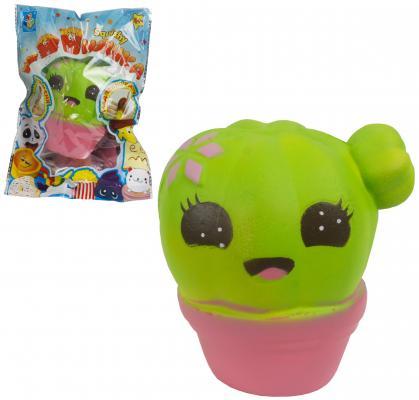 Купить Антистрессовая игрушка кактус 1toy мммняшка полимер, разноцветный, Подушки-игрушки