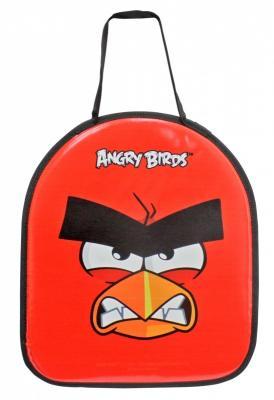 Ледянка 1toy Angry Birds до 60 кг красный полиуретан текстиль ледянка 1toy angry birds 72х41 см прямоугольная т59206