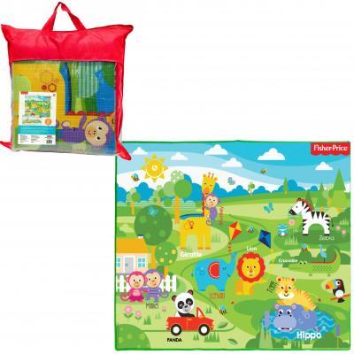 Купить 1toy FISHER PRICE коврик игровой для малышей EPE средний 150х180х0, 5 см, в сумке Т11343, Развивающие коврики и дуги