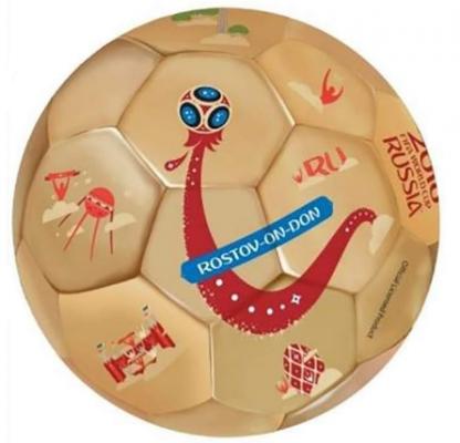 FIFA 2018 футбольный мяч Rostov-on-Don 2,2мм, TPU+EVA, 350гр, размер 5(23см) чехол fifa 2018 rostov on don для iphone 6 6s