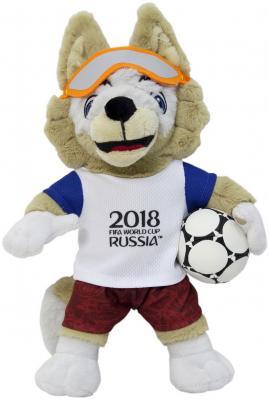 "все цены на Мягкая игрушка волк FIFA ""ФИФА 2018: Забивака"" плюш 28 см онлайн"