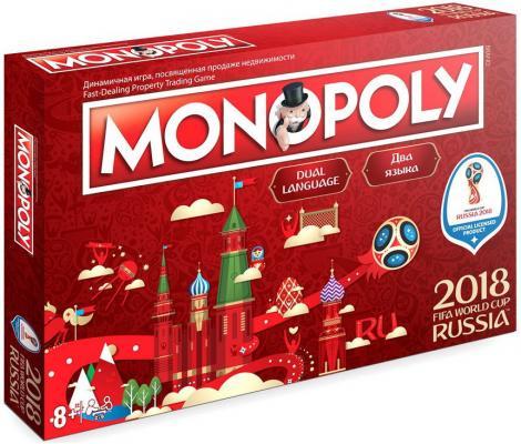 Настольная игра FIFA спортивная Монополия настольная игра hasbro моя первая монополия