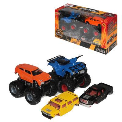 Купить Игровой набор Yako Набор инерционных машинок цвет в ассортименте 2 шт M6545-2, Детские модели машинок