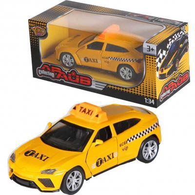 Машина Yako Collection Драйв - Такси желтый 12 см M6126 игрушка yako m6126