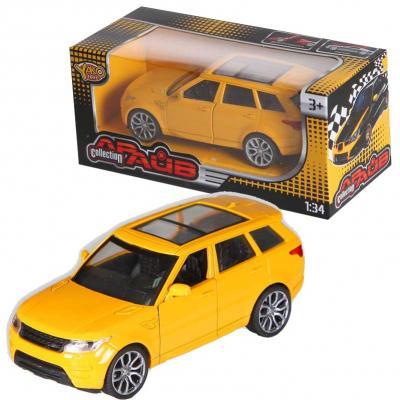 Купить Машина Yako Машина инерционная желтый 12 см M6128, Детские модели машинок