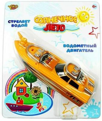 Катер Yako Солнечное лето желтый M6497