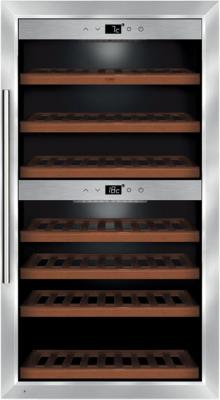 Винный шкаф CASO WineComfort 660 Smart серебристый винный шкаф caso winechef pro 40 серебристый