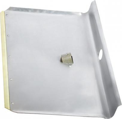 Лопата СИБРТЕХРОС снеговая 61541 600х 400х 1.5мм без черенка алюминиевая,метал. окантовка