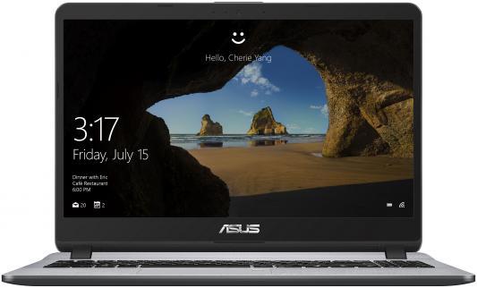 Ноутбук Asus X507UB-EJ177 Core i5 7200U/8Gb/500Gb/nVidia GeForce Mx110 2Gb/15.6/FHD (1920x1080)/Endless/grey/WiFi/BT/Cam ноутбук asus a450ld4210 554gsc52x20 i5