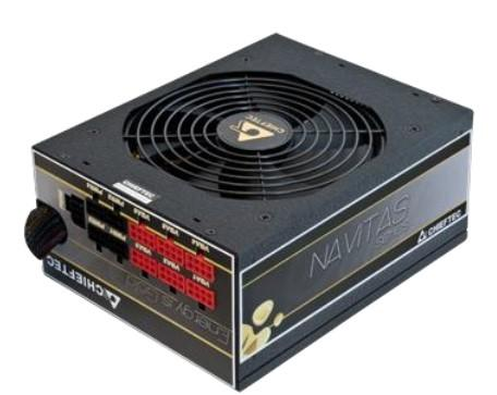 Фото - Блок питания ATX 1350 Вт Chieftec PPS-1350FC блок питания accord atx 1000w gold acc 1000w 80g 80 gold 24 8 4 4pin apfc 140mm fan 7xsata rtl