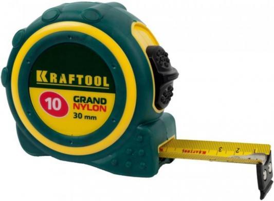 Рулетка Kraftool 3412-10_z01 10мx30мм рулетка kraftool pro 34127 05 27