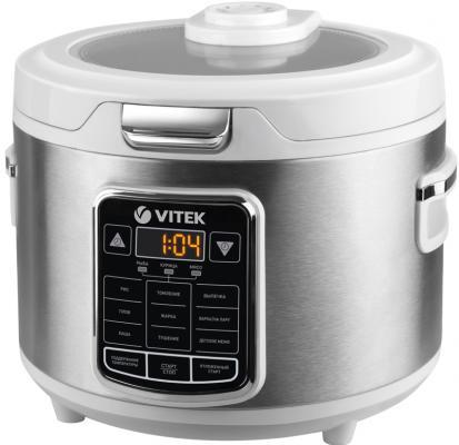 4281(W) Мультиварка VITEK Мощность 900Вт.Oбъем чаши 5Л.9 автоматических программ.