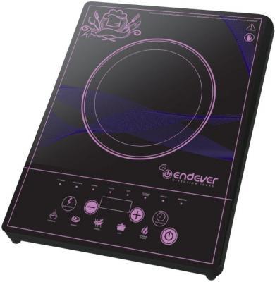 лучшая цена Электроплитка ENDEVER 41-DP чёрный
