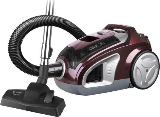 8102(BD) Пылесос VITEK Максимальная мощность 2000 Вт.Мощность всасывания 300 Вт.C HEPA-фильтром. пылесос vitek vt 8102 bd