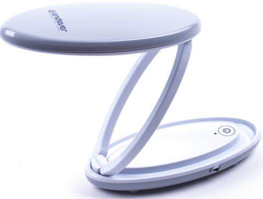120- MasterLight Настольная лампа светодиодная ENDEVER белый, мощн. 2 W, зарядка от USB цена и фото