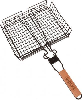 где купить 1113G-B-DX Решетка-гриль глубокая 32x24cm со сьемной ручкой (сталь с хромированным покрытием) по лучшей цене