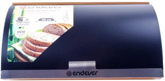 02-Bamboo Хлебница деревянная Endever, бамбук/пластик,нескольз. ножки,4 шт/уп