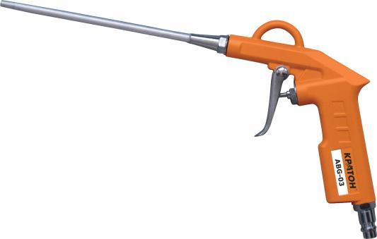 Пистолет продувочный КРАТОН ABG-03 длина сопла 150 мм пистолет продувочный кратон abg 01