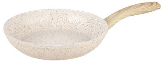 28-Stone-Beige Сковорода алюминиевая с мраморным покрытием ENDEVER