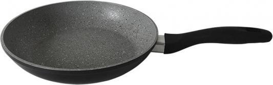 24-Stone-Grey Сковорода алюминиевая с мраморным покрытием ENDEVER endever stone grey 26 см