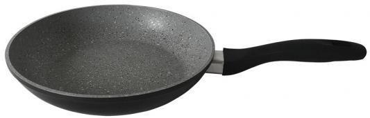 28-Stone-Grey Сковорода алюминиевая с мраморным покрытием ENDEVER сковорода endever stone с мраморным покрытием цвет бежевый диаметр 26 см