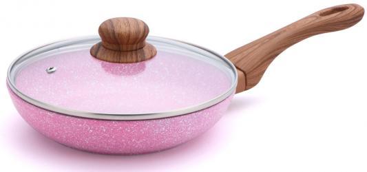 7946-BK Сковорода BEKKER 24см EMERY с крышкой сковорода нмп невская 24см 2473н