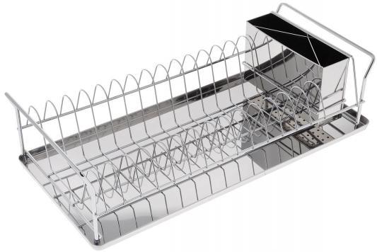 5512-BK Сушилка для посуды BEKKER.45*21*11,5см Состав: нерж. сталь. набор посуды bekker classik вк 226