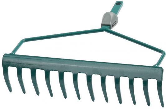 Грабли RACO 4230-53808  изогнутые maxi 12 зубцов с быстрозажимным механизмом 300мм