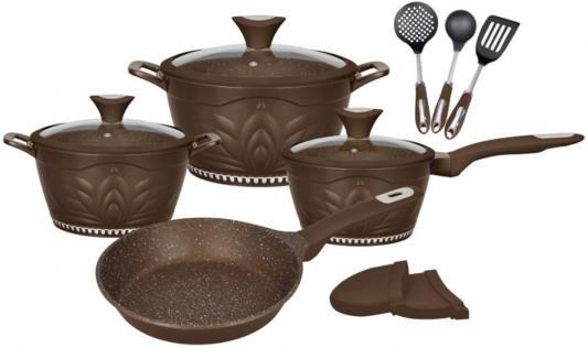 1306-WR Набор посуды WINNER 12 предметов. Состав: литой алюминий, нейлон. PRINCESS