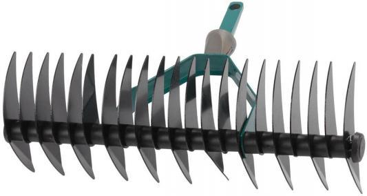 Грабли RACO 4230-53839  двухсторонние maxi с быстрозажимным механизмом 22 зубца / 350мм