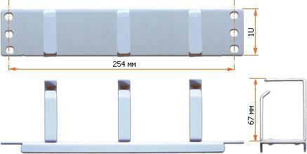 Органайзер TWT-ORG1U-3V/10 1U 3 кольца mini remote switch 3v 3 3v 3 6v 3 7v 4 2v 4 5v 5v micro relay receiver transmitter no com nc button circuit remote on off mt ask