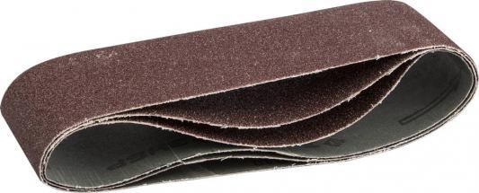 Лента шлифовальная бесконечная ЗУБР 35542-040 МАСТЕР на тканевой основе для ЛШМ P40 75х533мм 3шт. лента шлифовальная бесконечная stanley sta33451 xj