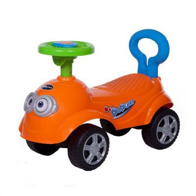 Каталка-машинка Baby Care QT Racer оранжевый от 1 года пластик 600 baby care baby care каталка cute car красная
