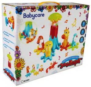 BABYCARE, Конструктор музыкальный, BC1004 подвесные игрушки baby care музыкальный телефон