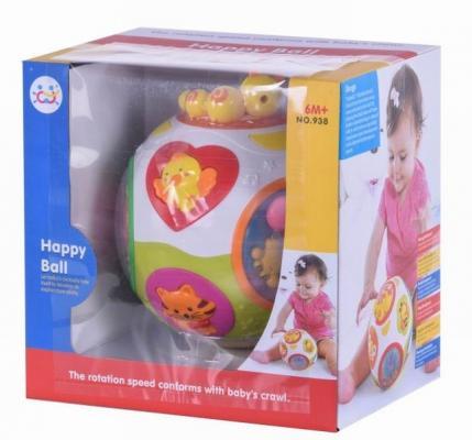 Интерактивная игрушка Huile Музыкальный мяч от 6 месяцев цена