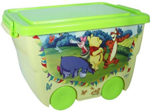 IDEA Ящик для игрушек Disney 24л банановый