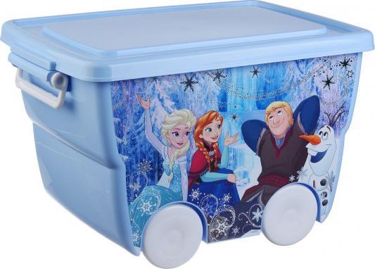 IDEA Ящик для игрушек Disney 24л голубой