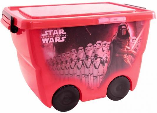IDEA Ящик для игрушек Звездные войны 24л красный