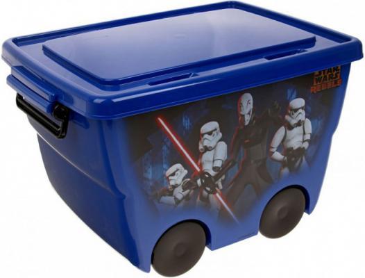 IDEA Ящик для игрушек Звездные войны 24л синий