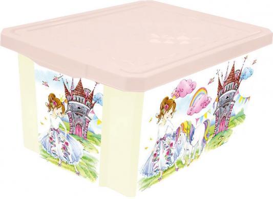 Littel Angel Ящик для игрушек X-BOX Сказочная Принцесса 17л