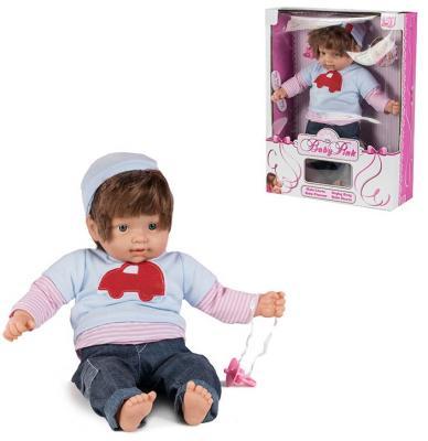 Кукла Loko Кукла Baby Pink - Мальчик 43 см со звуком одежда для куклы loko baby pink для девочки