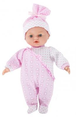Купить Кукла Loko Кукла Tiny Baby с коляской 30 см, ПВХ, текстиль, пластик, Классические куклы и пупсы
